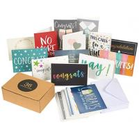 Buy cheap Assorted Holiday Greeting Cards Multi Colored Durable 250gsm Paper Made from wholesalers