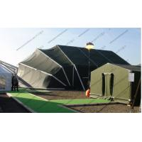 Buy cheap Aluminum Frame Folding Military Army Tent Army Green PVC Mini For Outside Temporary Use from wholesalers