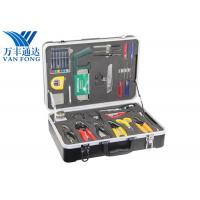 Buy cheap 26 Tools In One Case Fusion Splicing Tool Kit Fiber Optic Cable Construction Tools from wholesalers