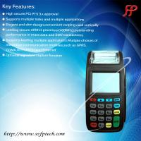 Buy cheap New8210 RFID smart card reader handheld gprs pos terminal linux gas station pos system from wholesalers
