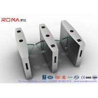 Buy cheap Retractable Flap Barrier Turnstile Durable Anti Pinch Function Time Attendance System product