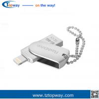 Buy cheap Rotate 3 in 1 32GB Metal OTG USB Flash Drive memory stock extra storage from wholesalers