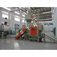 Buy cheap Industry Wet Sand Blasting Machine Belt Chain Conveying Fine Dust Filtering from wholesalers