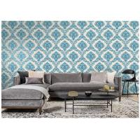 Buy cheap Beautiful Classic Vintage Damask Wallpaper Home Decor With Water Based Ink from wholesalers