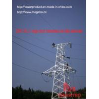 Buy cheap megatro 220KV 2A2 J1  single circuit  transmission line lattice steel tower from wholesalers
