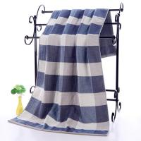Plaid Patterned Luxury Cotton Towels
