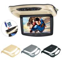 Buy cheap OEM Manufacturer 10.2 inch roof mount mounitor with DVD Player (black,beige, grey) from wholesalers