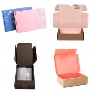 Buy cheap Custom Corrugated Shipping Packaging Subscription Colored Mailer Boxes from wholesalers