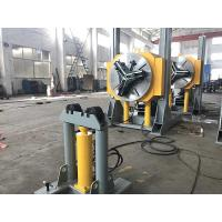 Buy cheap Hydraulic Height Adjustment Pipe Welding Positioners Automatic Lift Chuck Positioner 3T Load Capacity from wholesalers