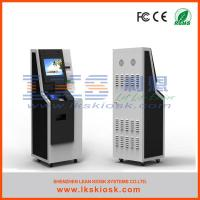 Buy cheap Intelligent Cash Payment Kiosk Charge Self  Services Windows 7 from wholesalers