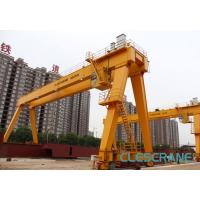 Buy cheap good performance track travelling medium-sized electric hoist gantry crane from wholesalers