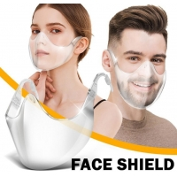 Buy cheap TUV  15CM Anti Fog PC Plastic Protective Transparent Face Shield product