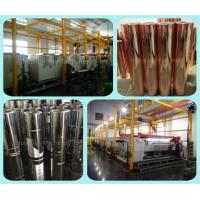 Buy cheap Fully Automatic Plating Line for Gravure Cylinder Making Equipment Automated Line Galvanic Electroplating Tanks product
