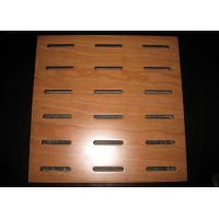 Buy cheap Acoustic Perforated MDF Sheet Panels With Mildew Resistant BT new pattern from wholesalers