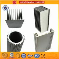Buy cheap Sound Insulation Aluminum Heatsink Extrusion Profiles Better Stiffness from wholesalers