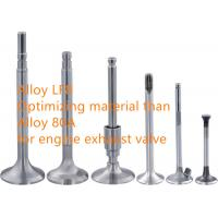 Buy cheap High Performance Internal Combustion Engine Exhaust Valve Alloys ISO9001 from wholesalers