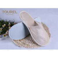 Buy cheap Light Pleuche Disposable EVA Terry Towelling Slippers 29*11cm from wholesalers