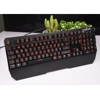 Buy cheap RECCAZR Black White RGB Mechanical Keyboard Wired For Windows / Xp KG901 from wholesalers