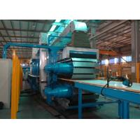 Buy cheap PLC Control Rock Wool Production Line / PU Formed Sectional Sandwich Panel Line from wholesalers