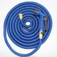 Buy cheap Flexible Plastic Shrinking Garden Hose With Plastic Quick Connector from wholesalers