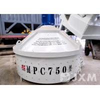Buy cheap Conventional Roller Pan Mixer MPC750 30kw  Mixing Pan For Concrete from wholesalers