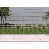 Buy cheap Self Supporting Temporary Chain Link Fence , Fully Welding Temporary Security Fence Panels from wholesalers