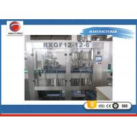 Buy cheap Carbonated Beverage Filling Machine 4.2KW , Commercial Juice Bottle Filling Machine from wholesalers