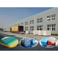 Buy cheap Twin wall plastic sheet from wholesalers
