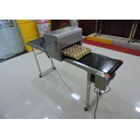 Buy cheap High Capacity Egg Date Stamp Machine With Large - Scale Integrated Circuits from wholesalers