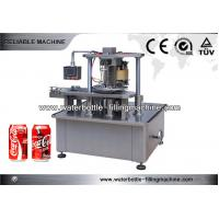 Buy cheap 7.5kw Aerosol Can Beverage Filling Machine , Tomato Paste Bottle Filler Machine from wholesalers