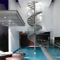 Buy cheap Seaside stainless steel spiral staircase high-qiality staircase from wholesalers