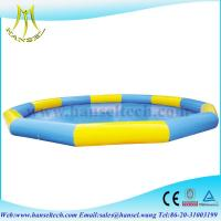 Buy cheap Hansel Commercial Grade Inflatable Water Pool For Water Ball Or Paddle Boats from wholesalers