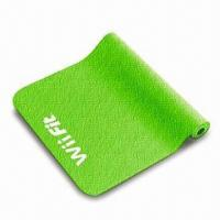 Buy cheap Yoga Mat for Wii Fit with Anti-slip Surface, Made of High-density Elastic Material from wholesalers