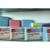 Buy cheap Anti-Bacteria Folding Hand Towels / Household Folded Nonwoven Wipes from wholesalers