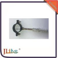 Buy cheap 8mm - 54mm Galvanized Pipe Clamps , M6 Single Pipe Clamps With Black Coating from wholesalers