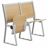 Buy cheap University / College Classroom Furniture / Student Desk And Chair Without Armrest from wholesalers