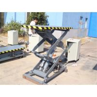 Buy cheap 1T,2THydraulic Scissor Lift Platform With Safety Toe Guard For Unloading Goods From Truck from wholesalers