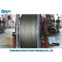 Buy cheap 12 Strands High Tensile Strength Galvanized Steel Wire Rope Nominal Dia 11mm from wholesalers