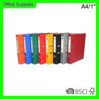Buy cheap Best selling A4/1 Document lever arch file holder,1500gsm paperboard box file from wholesalers