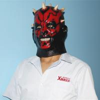 Buy cheap X-MERRY NEW Halloween Darth Maul Costume Mask Kids Boys Star Wars Halloween from wholesalers
