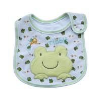 Buy cheap Custom Soft Cotton Frog Baby Dribble Bibs Feeding Bibs For Toddlers from wholesalers