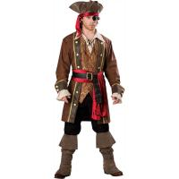 Buy cheap 2016 costumes wholesale high quality fancy dress carnival sexy costumes for halloween party Captain Skullduggery from wholesalers