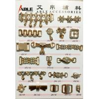 Buy cheap Gold Shoe Chain Accessories Zinc Alloy Buckle For Flip Flops Shoes from wholesalers