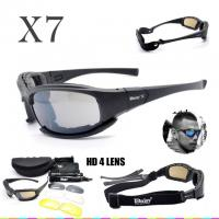 Buy cheap DAISY X7 Goggles 4LS Men Military polarized Sunglasses Bullet-proof airsoft shooting Gafas smoke lens Motorcycle Cycling from wholesalers