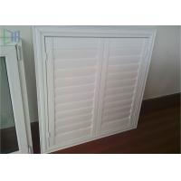 Buy cheap Professional Glass Jalousie Windows , Powder Coating White Window Shutters from wholesalers