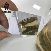 Buy cheap Anti Fingerprint  Mirror Business Cards , Stainless Steel Business Cards 85x54mm product