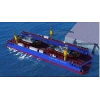 Buy cheap Over 1000Ton Modular Floating docks for marine boat lifting Customized sized floating pontoons with stainless steel from wholesalers