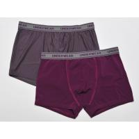 Buy cheap men's knitted boxer, micro fabric, jacquard waistband and flatlock stitchings from wholesalers