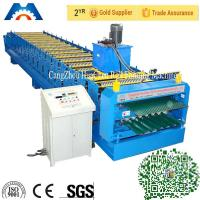 Buy cheap 18 Rollers Precise Corrugated Roll Forming Machine Steel Sheet Barrel from wholesalers