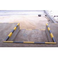 Buy cheap 380V Three Phrase Industrial Dock Levelers , Stationary Dock Ramp from wholesalers